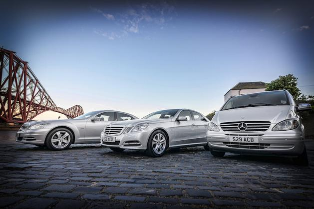 Wedding Bridal Cars, Executive, Corporate Chauffeur Car Service in Edinburgh and Scotland